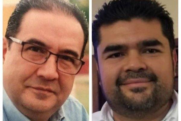 Sammy Morales y Jafeth Ernesto Cabrera