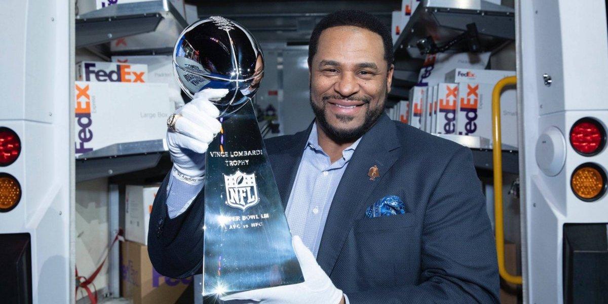 Trofeo del 'Super Bowl' ya está en Atlanta