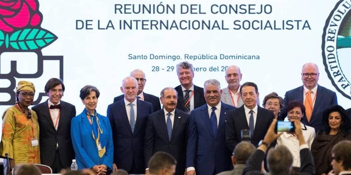 Cita de la Internacional Socialista pone sobre la mesa la crisis en Venezuela