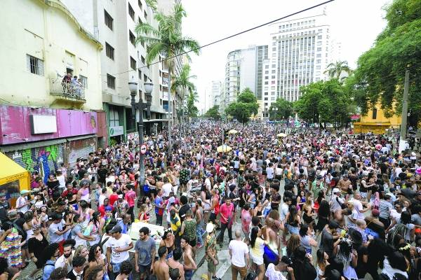 Carnaval de rua São Paulo