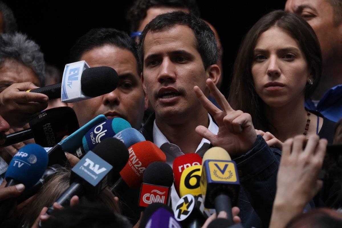 Juan Guaidó convoca protestas para exigir que militares permitan entrada de ayuda EFE