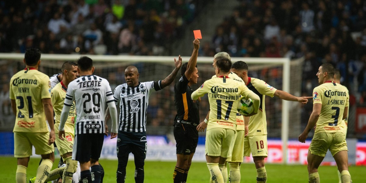 América y Monterrey presentan inconformidades por jugadores expulsados