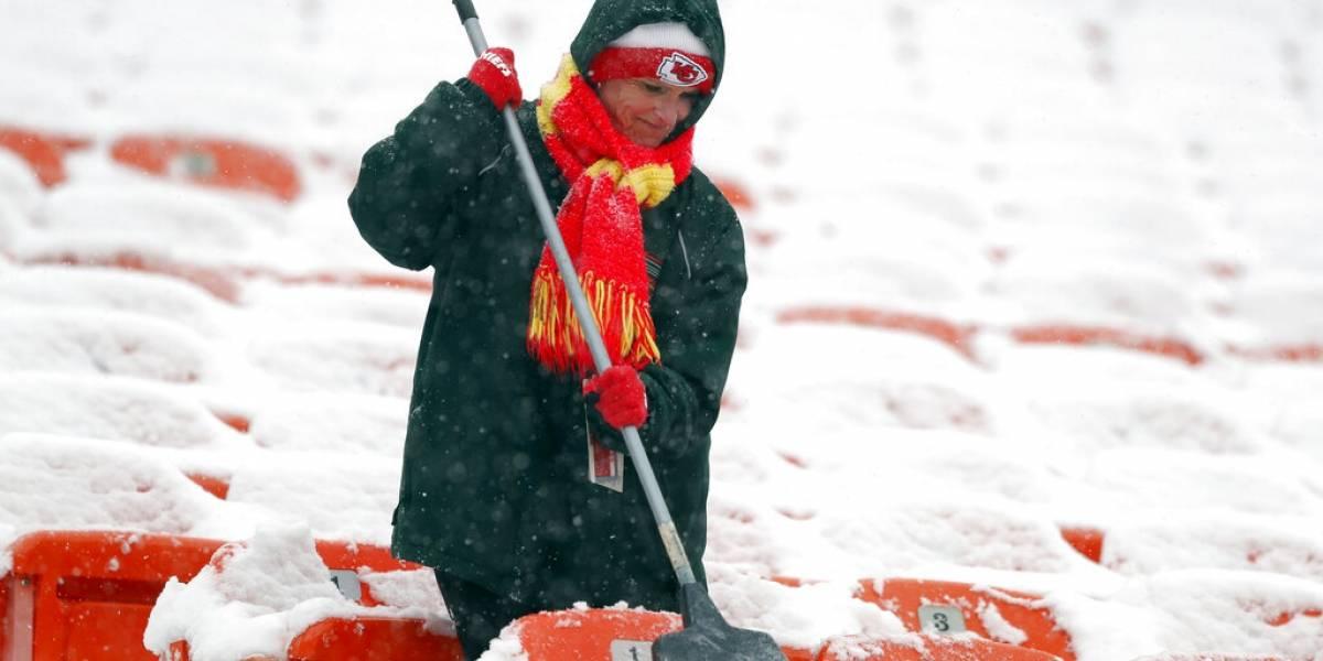 Tormenta invernal amenaza Atlanta en semana de Super Bowl