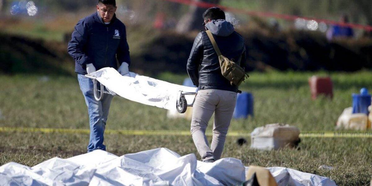 Aumentan a 115 los muertos por incendio en oleoducto en México