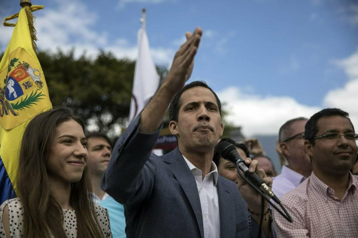Juan Guaidó AP