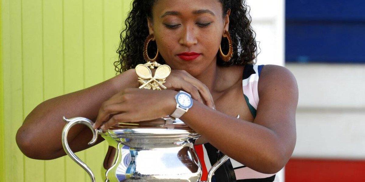 Noami Osaka se estrena como número uno en ranking mundial WTA