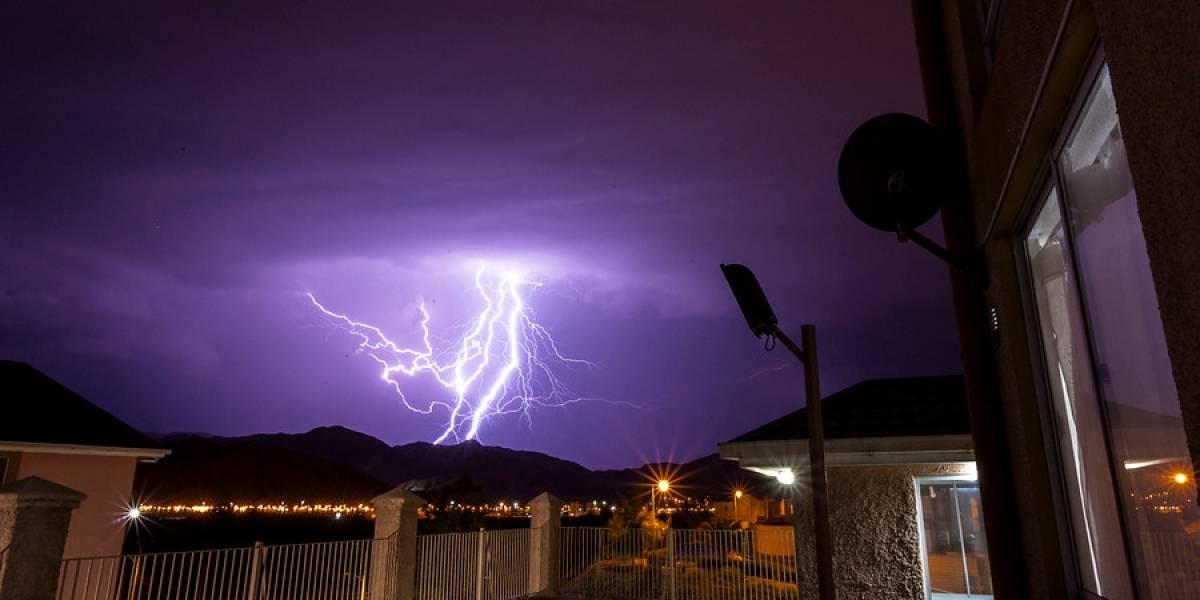 Dos regiones del norte en alerta por tormentas eléctricas, fuertes lluvias y posibles aluviones