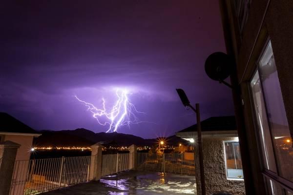 Image result for lluvia electricas antofagasta
