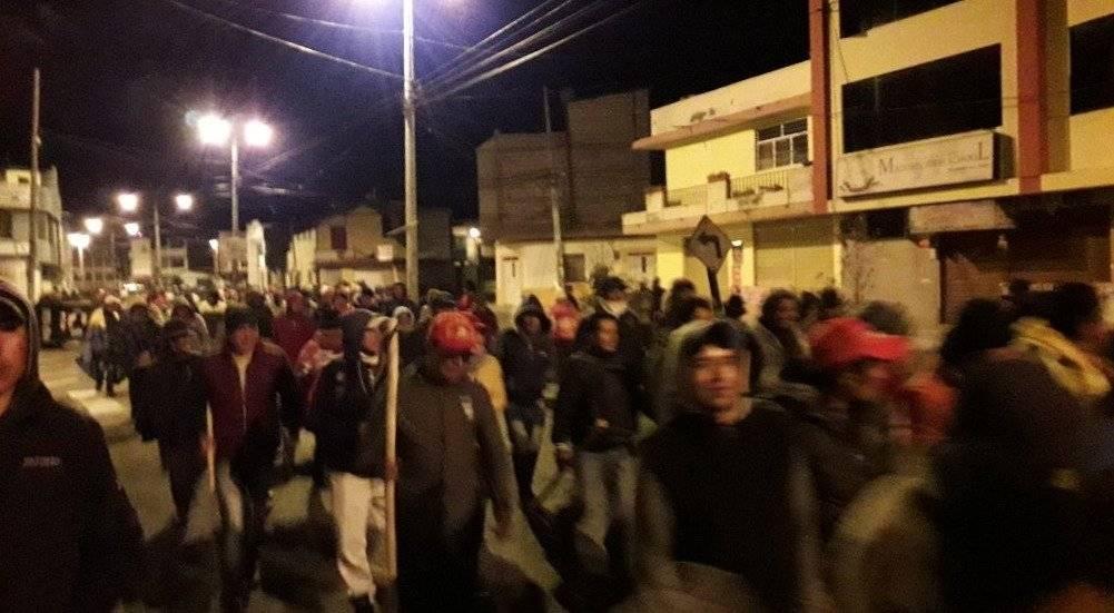 Comunidades indígenas encabezan manifestación en rechazo a las medidas económicas del Gobierno TWITTER @CONAIE_Ecuador