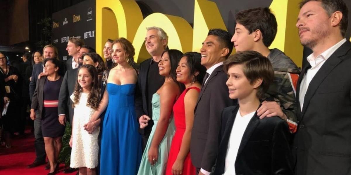 Netflix ayuda a actor de 'Roma' para que obtenga su visa y pueda estar en los Oscar