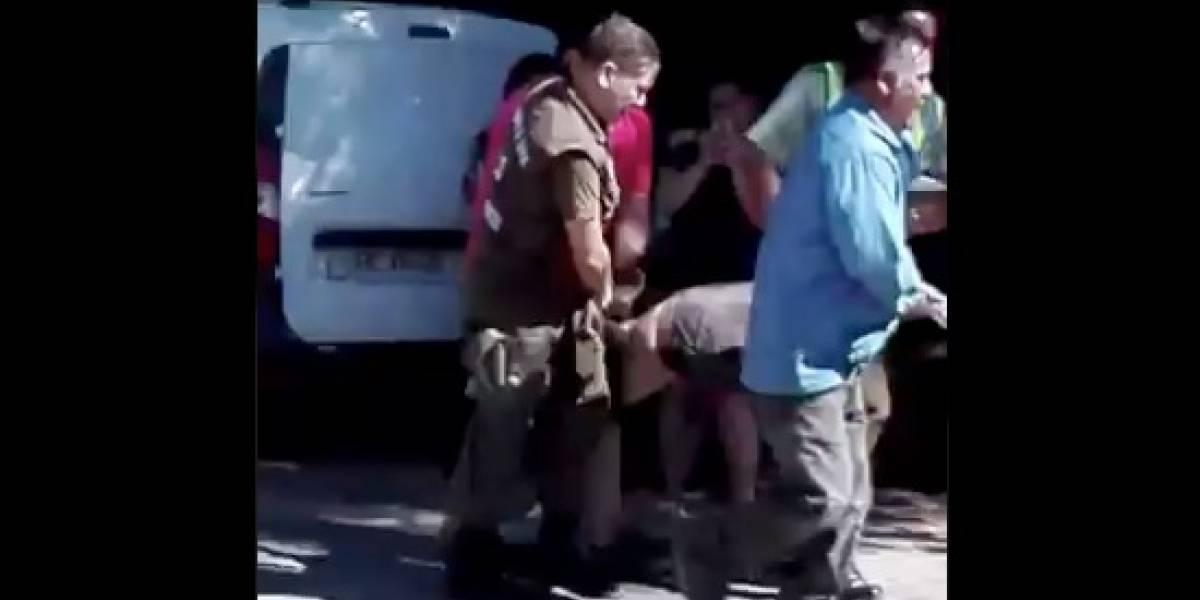 Investigan muerte de sospechoso detenido violentamente por Carabineros en Casablanca