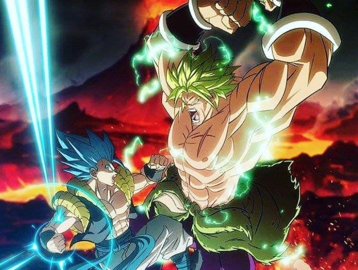 Dragon Ball Super: Broly Instagram