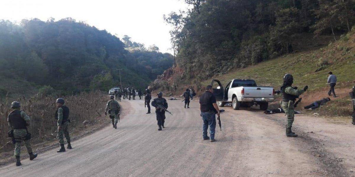 Enfrentamiento en Chilapa, Guerrero, deja 12 muertos y dos heridos