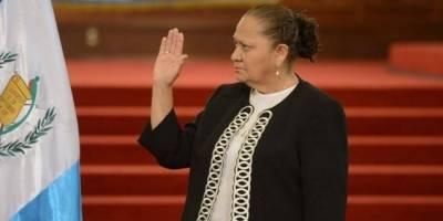 La fiscal general ha mencionado que es una mujer de Derecho.