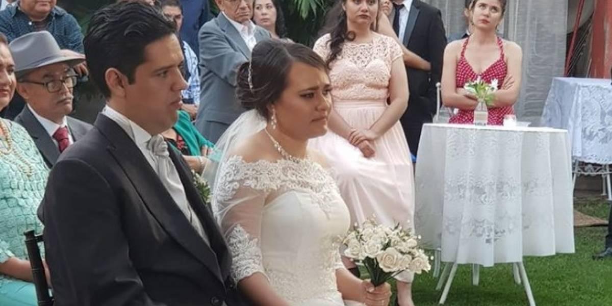Foto de boda en la hacienda Santa Fe en México se convierte en viral ¿por qué?