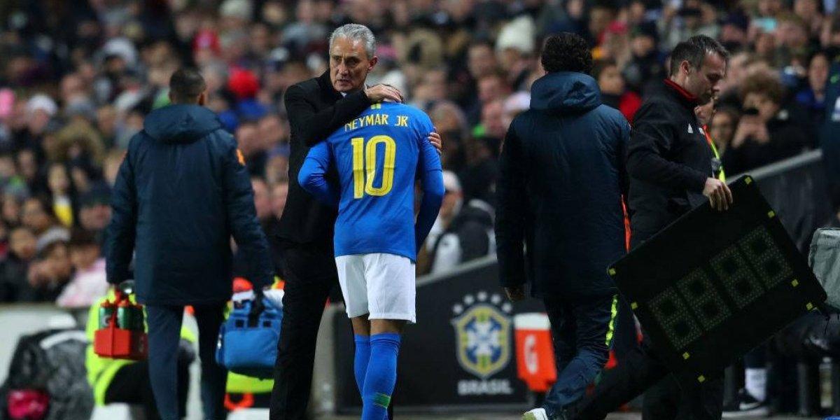 Alarma total: Tite pone en duda la participación del lesionado Neymar en la Copa América 2019