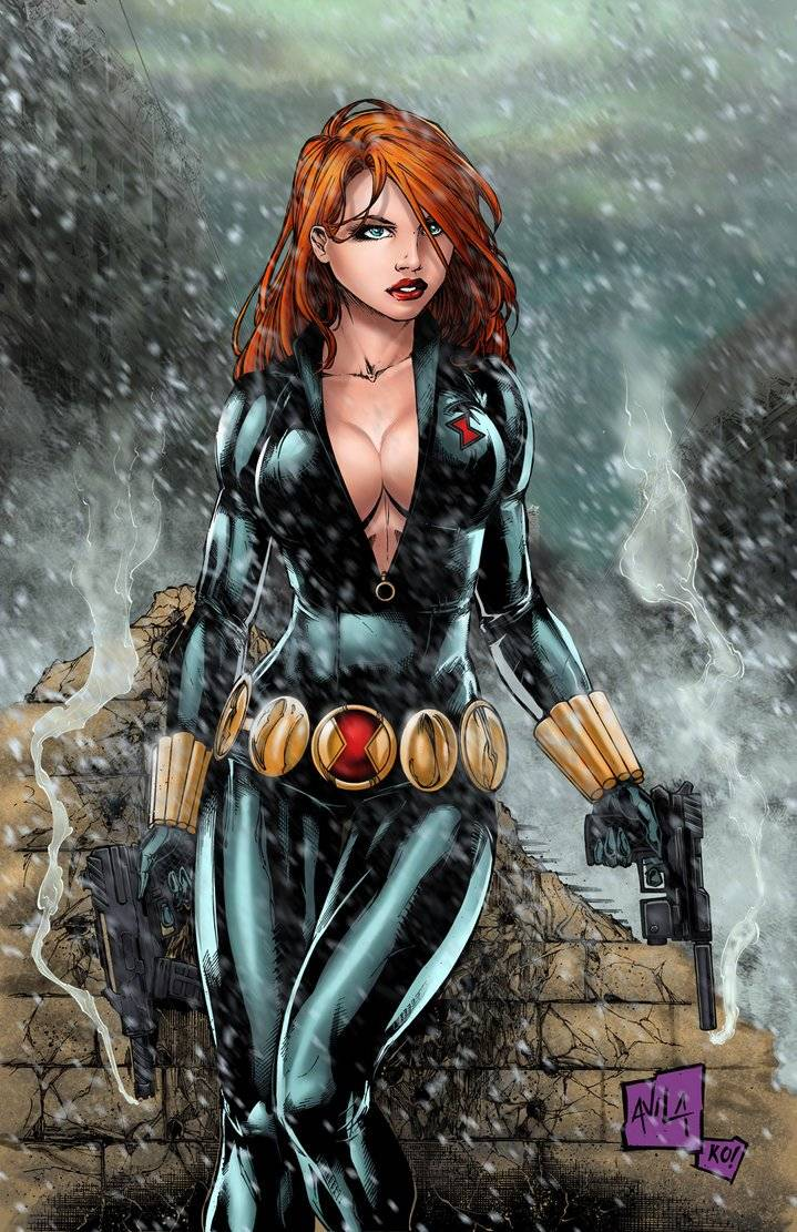 Hanzozuken: https://www.deviantart.com/hanzozuken/art/Black-Widow-Colors-537901346