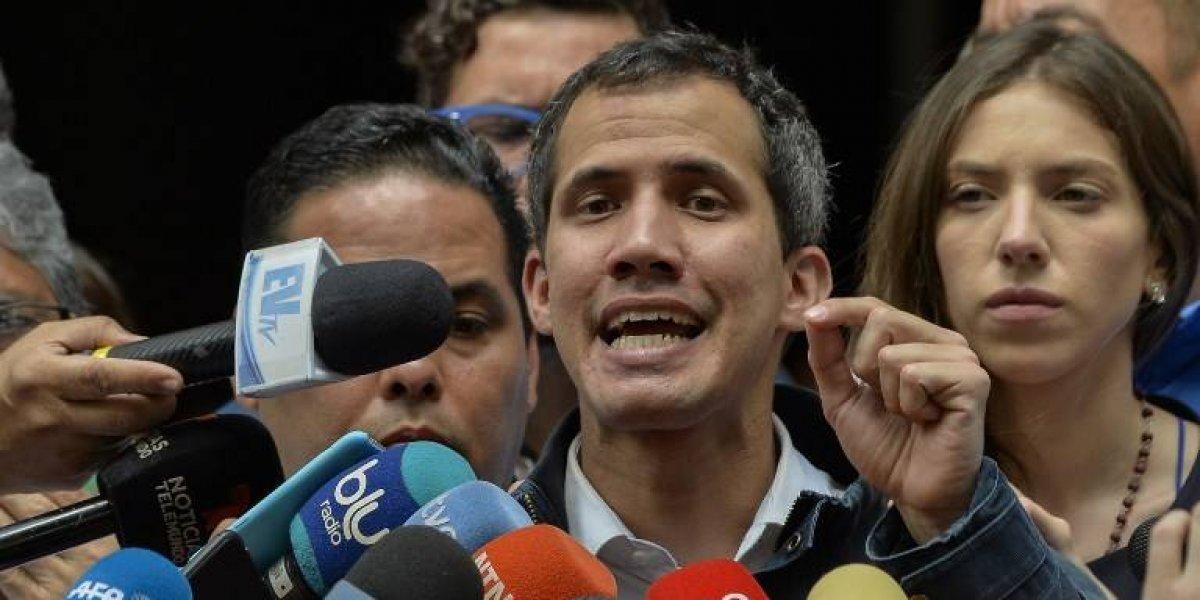 Guaidó anuncia que asume control de activos venezolanos en el exterior