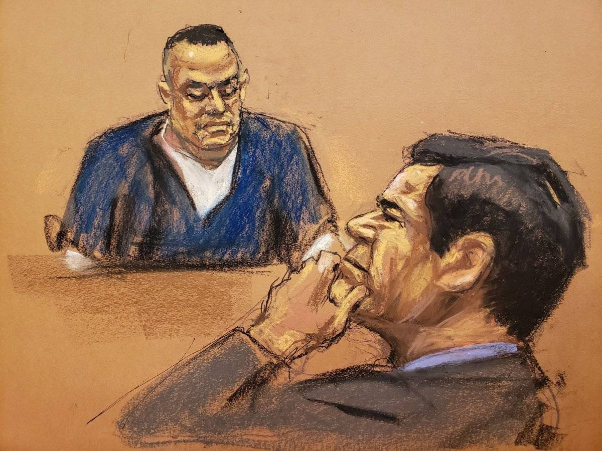 Ultimo testigo cooperante llega a la silla de los testigos en juicio al Chapo EFE
