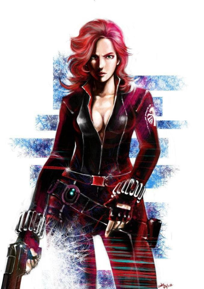 Michiamoluma: https://www.deviantart.com/michiamoluca/art/black-widow-306869135