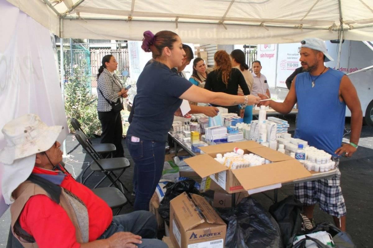 También reciben atención médica. Foto: Nicolás Corte | Publimetro