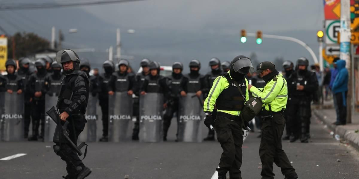 Cotopaxi: Un herido y un detenido en protestas en Panzaleo, según CONAIE