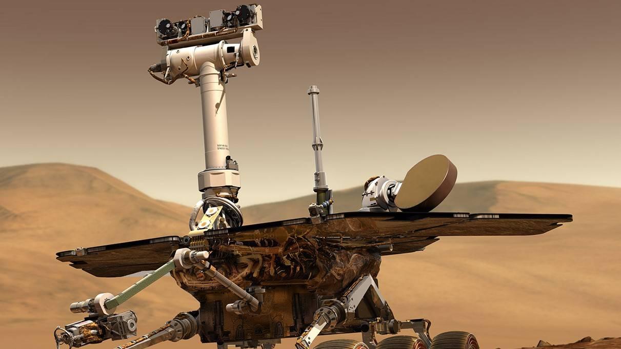 Fuentes tormentas de polvo en Marte han sido las responsables de acabar con el agua en el planeta
