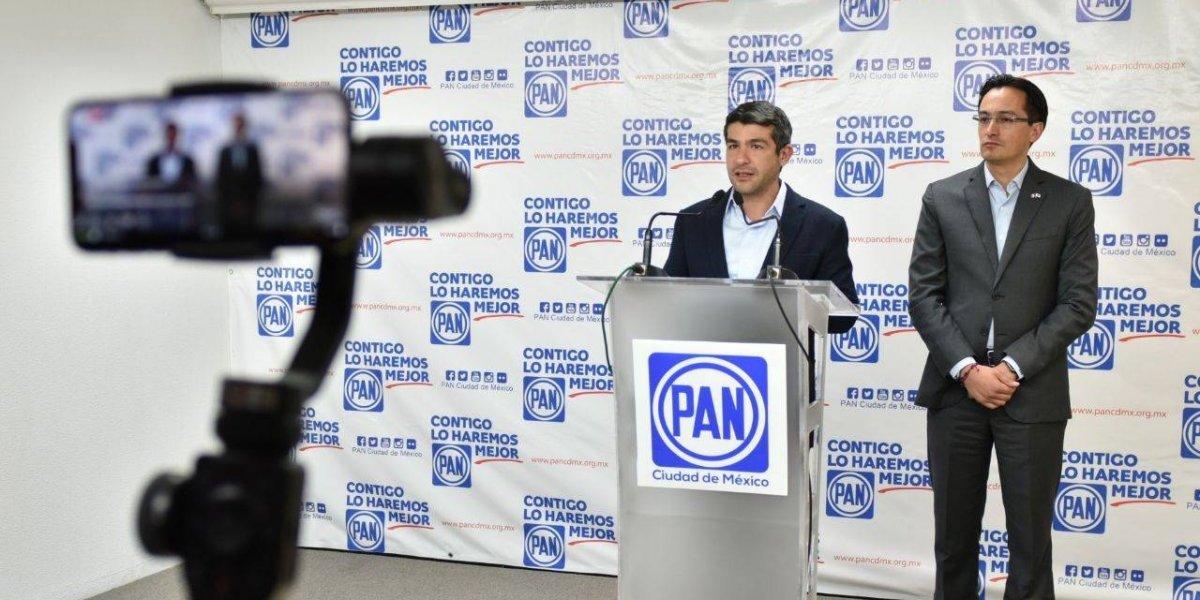 Presenta PAN agenda legislativa; piden a Sheinbaum no dar línea a Morena