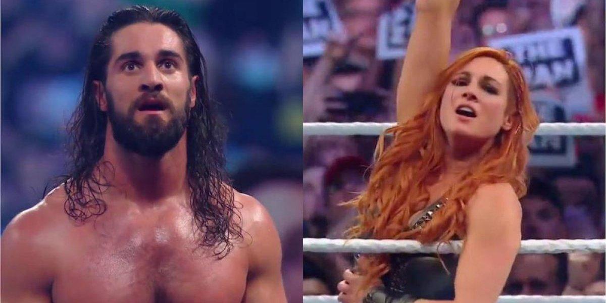 Seth Rollins y Becky Lynch ganan pase a Wrestlemania al imponerse en Royal Rumble