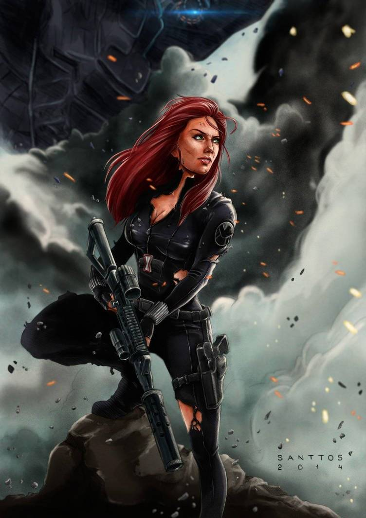 Santtos-Portfolio: https://www.deviantart.com/santtos-portfolio/art/Black-Widow-499132039