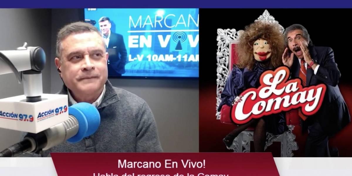 Héctor Marcano asegura que WAPA TV se afectará por el regreso de 'La Comay'