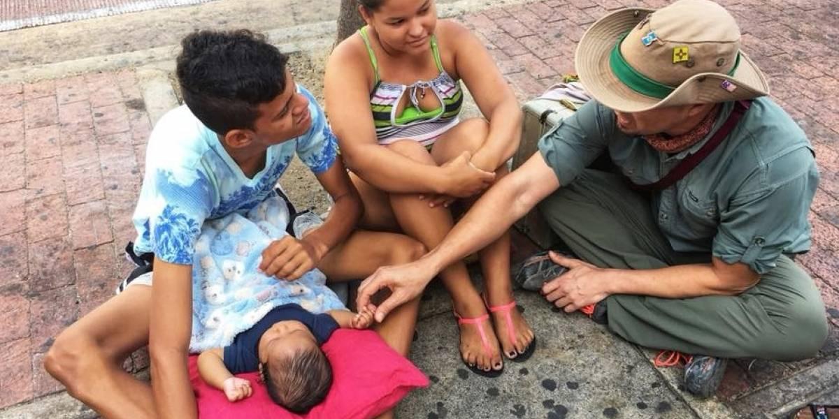 Trotamundos pide ayuda para venezolanos viviendo en la calle