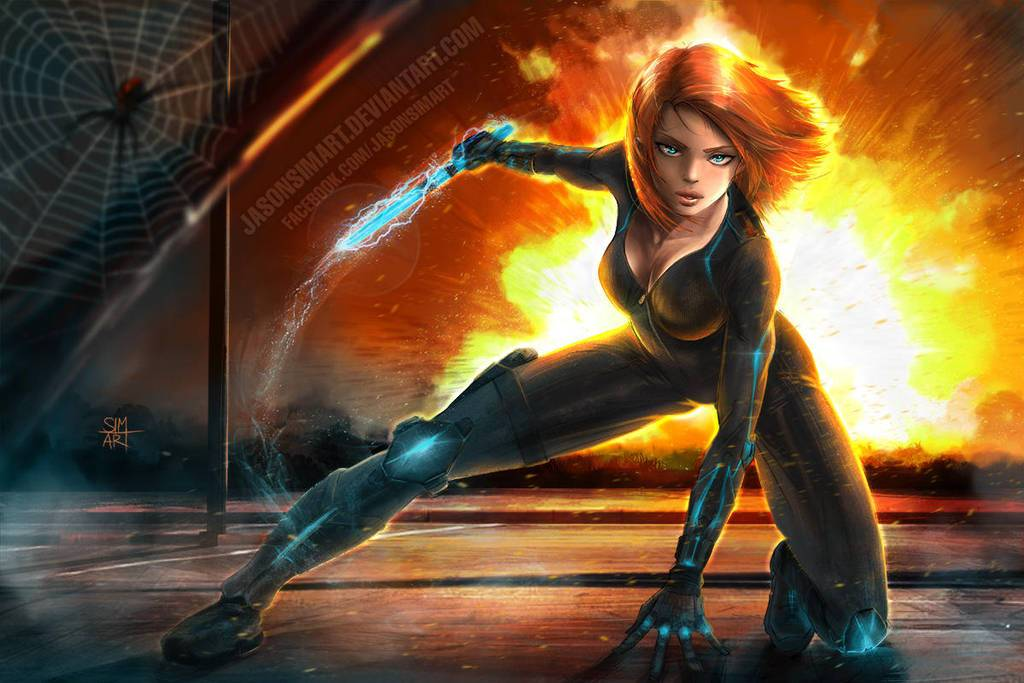 SimArtWorks: https://www.deviantart.com/simartworks/art/Black-Widow-606442936