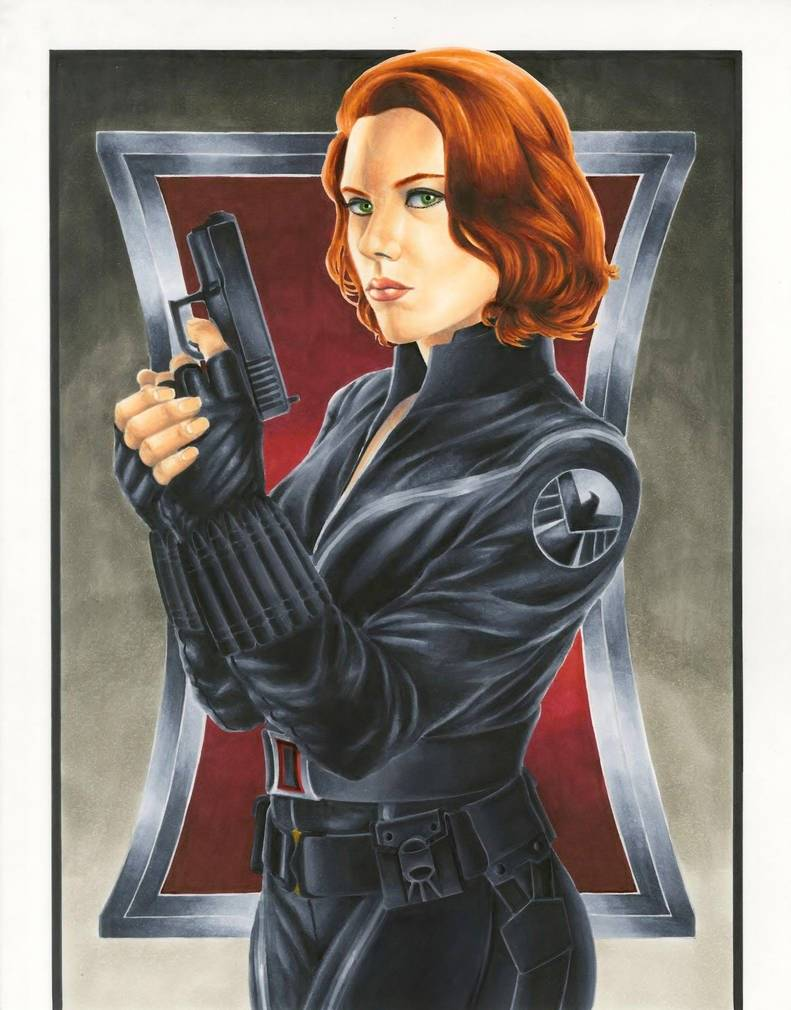 smlshin: https://www.deviantart.com/smlshin/art/Avengers-Black-Widow-361014083