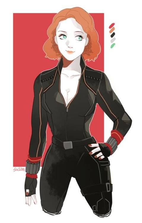Sodamu1002: http://sodamu1002.tumblr.com/post/97122663027/black-widow