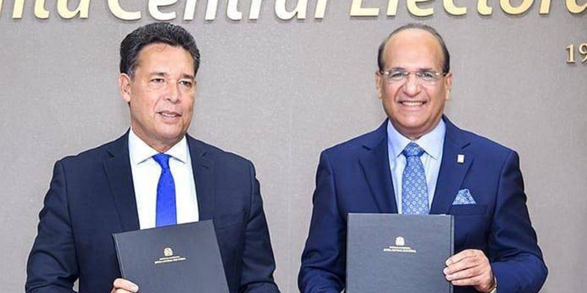 JCE e IIDH firman convenio para fortalecer los procesos democráticos