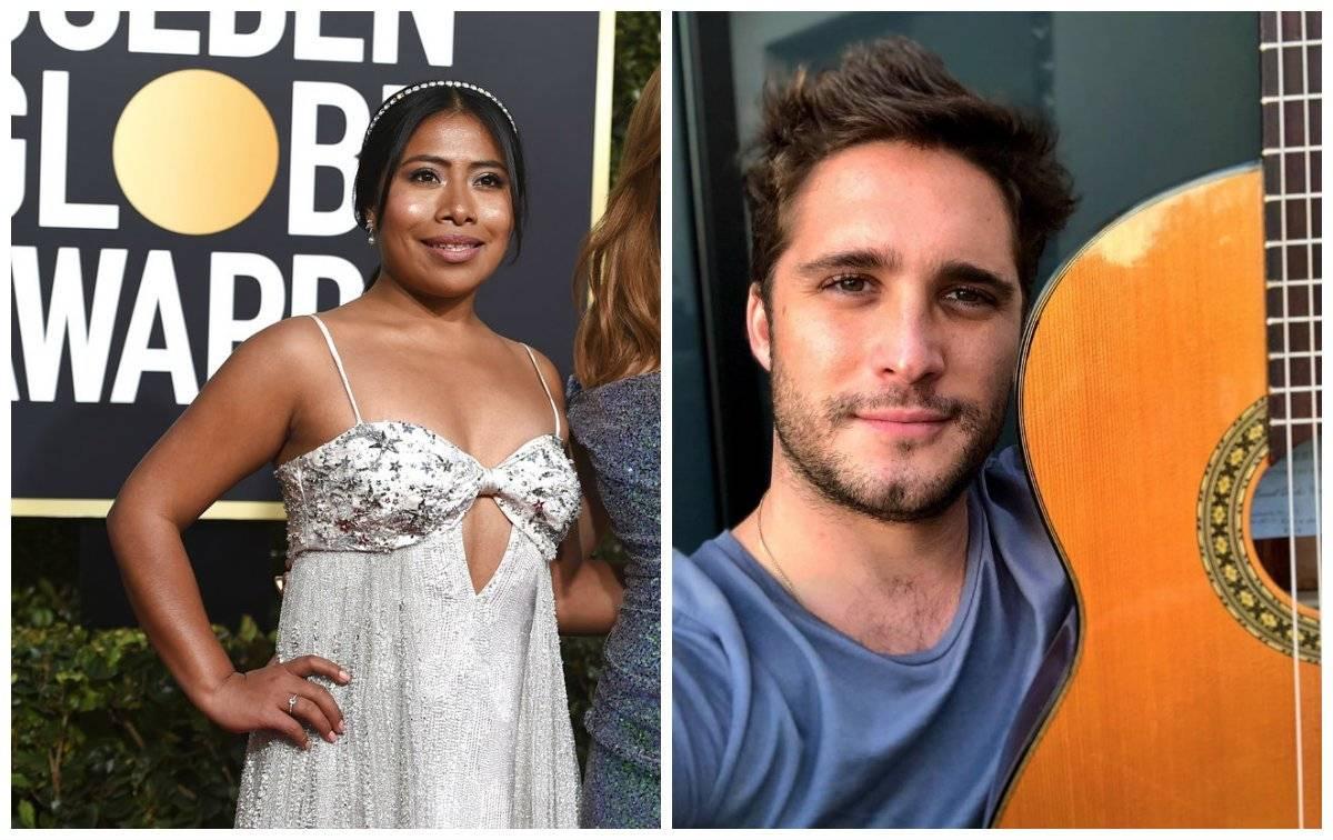 Yalitza y Diego Boneta sorprendieron al aparecer juntos en un video Especial