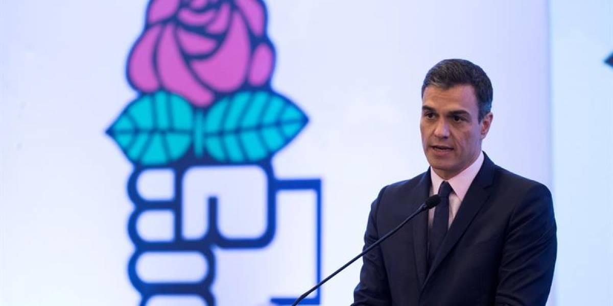 Pedro Sánchez subraya ante opositores que Guaidó debe liderar transición venezolana