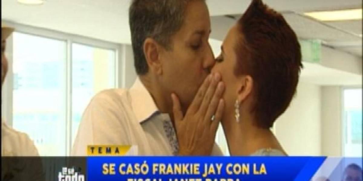 Fiscal Parra confirma se divorció de Frankie Jay