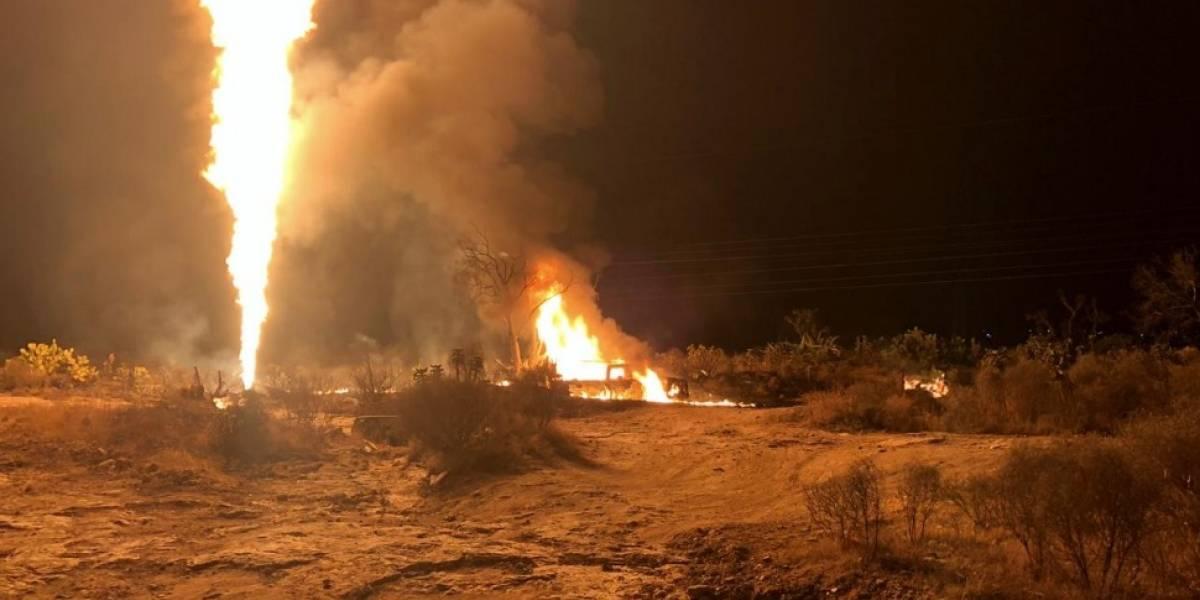 Se reporta explosión por otra toma clandestina en Hidalgo