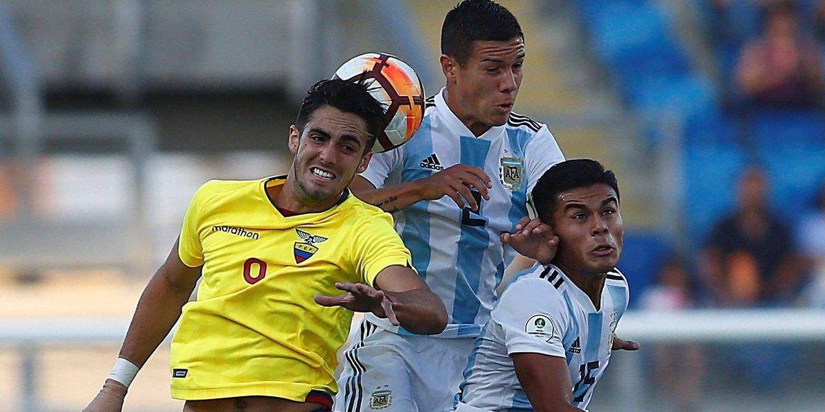 Sudamericano Sub 20-Chile 2019: Ecuador gana 2-1 a Argentina
