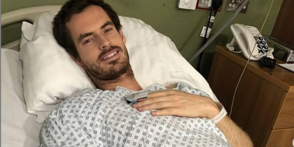 Andy Murray es operado y espera ponerle punto final a sus dolores