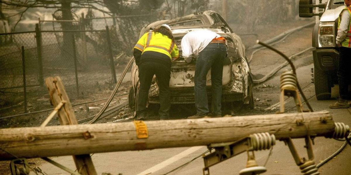 Pacific Gas & Electric se declara en bancarrota ante demandas por incendios