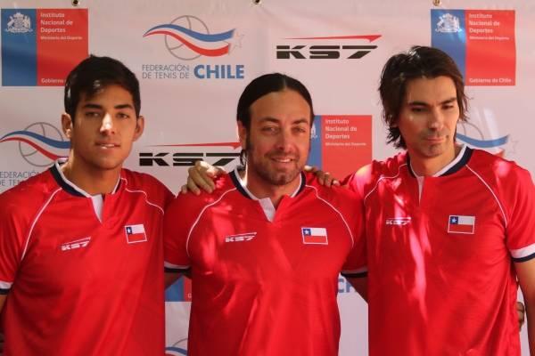 El equipo chileno de Copa Davis prepara el duelo frente a Austria /Imagen: Agencia UNO