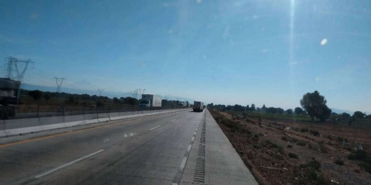 Reabren circulación en la autopista Puebla-Orizaba