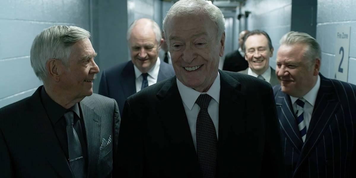 ¿Es Michael Caine demasiado común para interpretar a Brian Reader en 'Rey de Ladrones'?