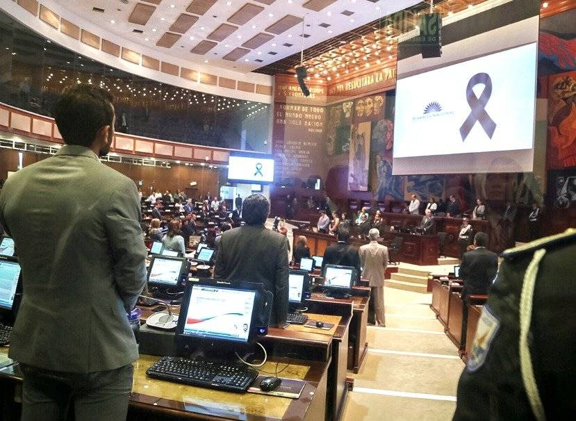 Rina Campain agradeció apoyo de la Asamblea Nacional tras el asesinato de su esposo Asamblea Nacional