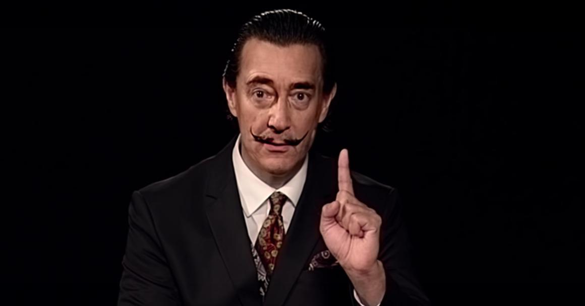 Salvador Dalí vive: Inteligencia artificial crea una réplica exacta de él