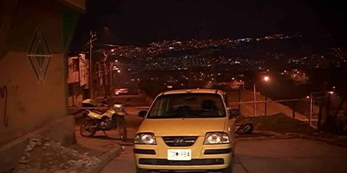 Conductora de taxi grabó un audio del momento en el que era asaltada por dos delincuentes
