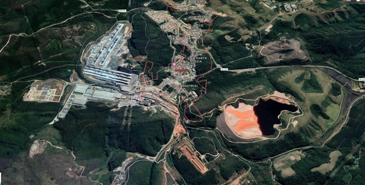barragem Alumínio